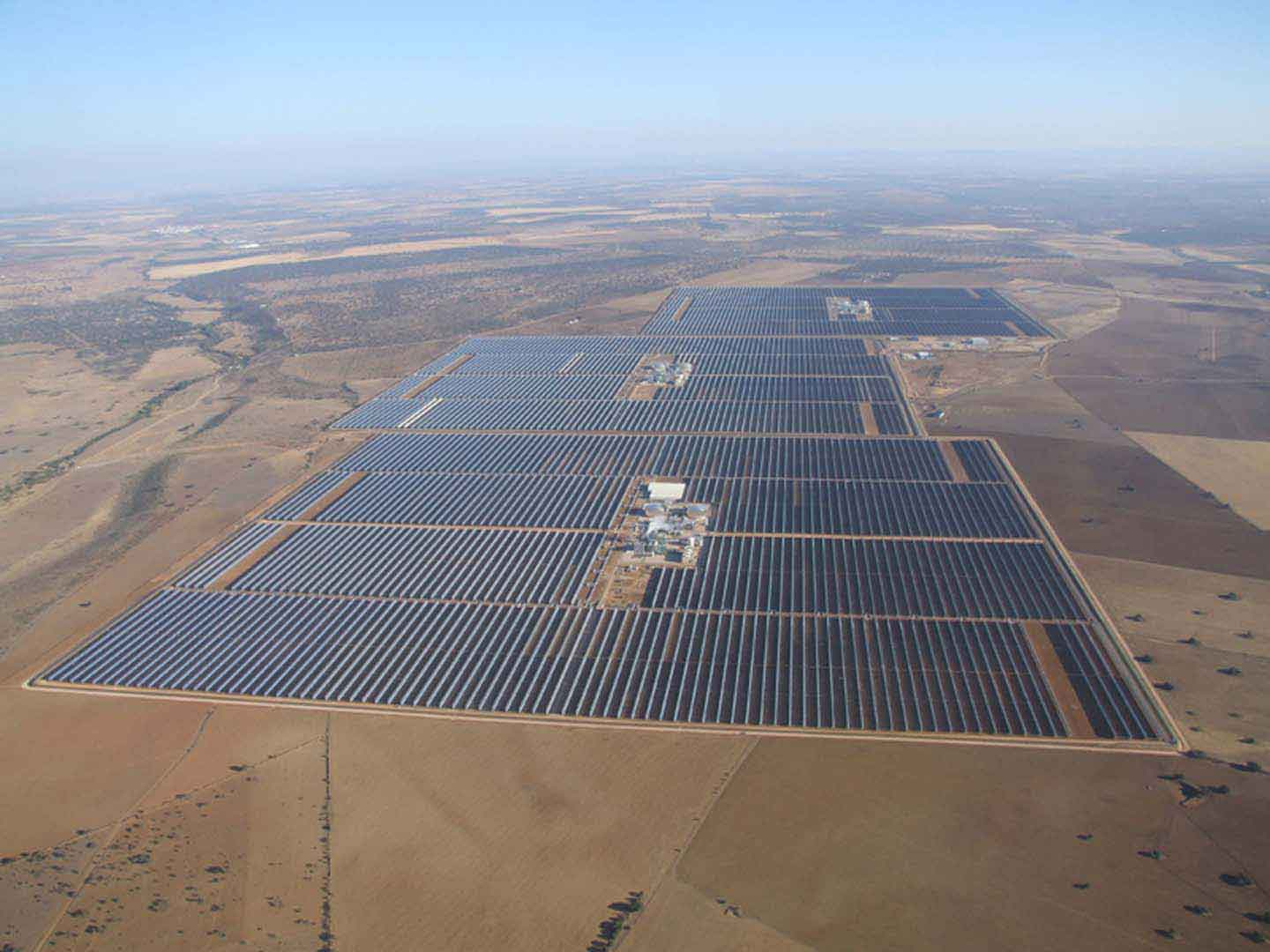 Thermal solar plant Extresol