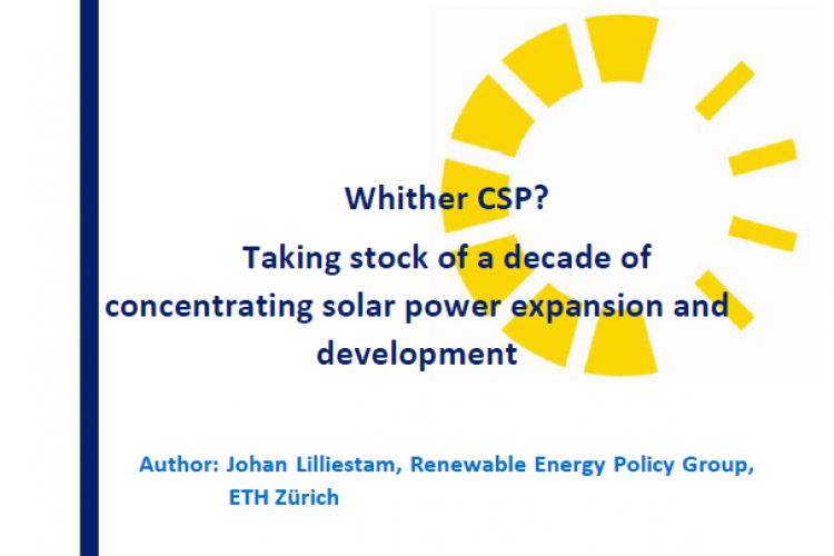 Ten years ago, CSP was a technology that most people were not aware of. This report maps the expansion, cost development as well as technologic and industrial trends of CSP over the last decade, drawing conclusions about the status and outlook for the continuous expansion of CSP, both at a European and a global level.