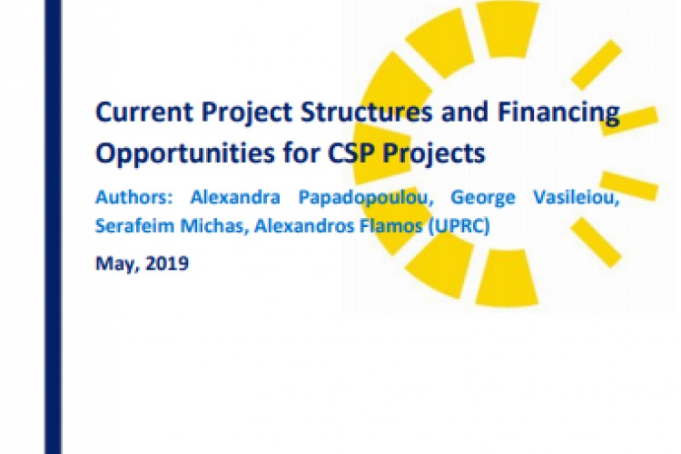 Report: Current Project Structures and Financing Opportunities for CSP Projects