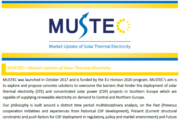 MUSTEC NEWSLETTER, ISSUE 3, JULY 2019