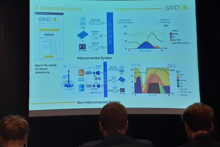 November 26th, 2019, GRIDSOL Event, Madrid, Spain