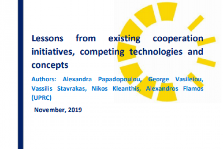 Report: Lessons from existing cooperation initiatives, competing technologies and concepts